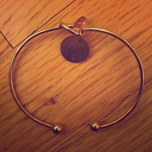 Gold S Bracelet
